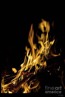 Photograph - Art Of Fire by Jennifer White