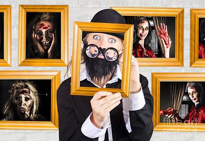 Youthful Photograph - Art Of Halloween Horror by Jorgo Photography - Wall Art Gallery