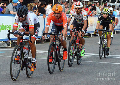 Bicycle Racing Photograph - Art Of The Athlete 12 by Bob Christopher