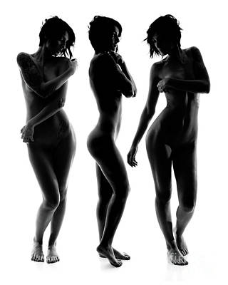 Provocative Photograph - Art Of Woman X3 by Jt PhotoDesign