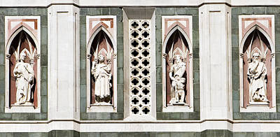 Photograph - Art On Duomo In Florence Italy by Marilyn Hunt