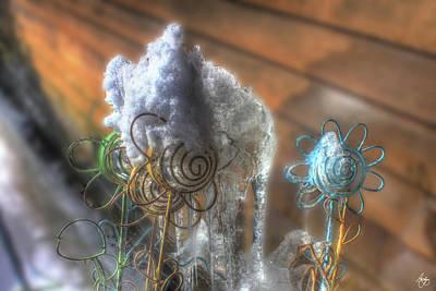 Photograph - Art On Ice by Wayne King