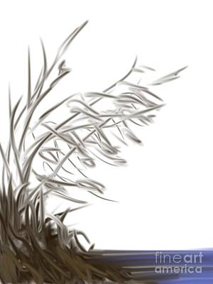 Digital Art - Art On Mobile- Blowing In The Wind by Trilby Cole