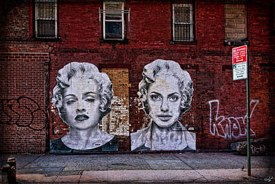 Madonna Digital Art - Art On The Street by Chris Lord