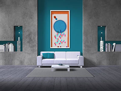 Private Room Digital Art - Art On The Wall 3 by Begonia Lafuente