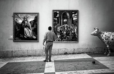 Photograph - Art Outside by Carlos Caetano