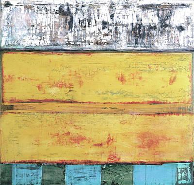 Painting - Art Print Abstract 34 by Harry Gruenert