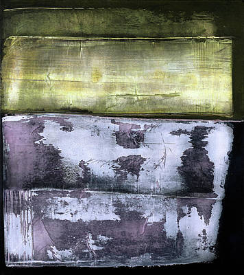 Painting - Art Print Abstract 39 by Harry Gruenert