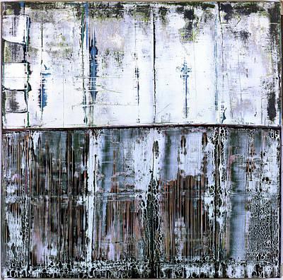 Painting - Art Print Abstract 45 by Harry Gruenert