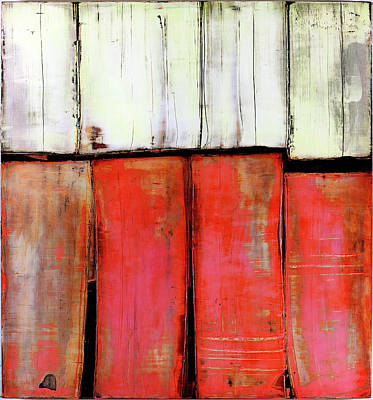 Painting - Art Print Abstract 88 by Harry Gruenert