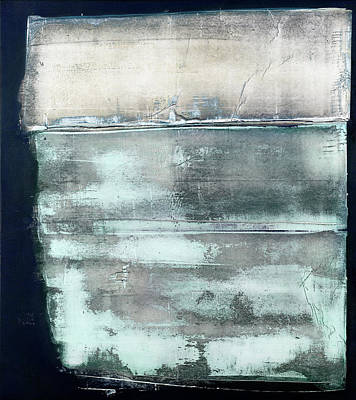 Painting - Art Print Abstract 40 by Harry Gruenert