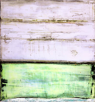 Painting - Art Print Abstract 87 by Harry Gruenert