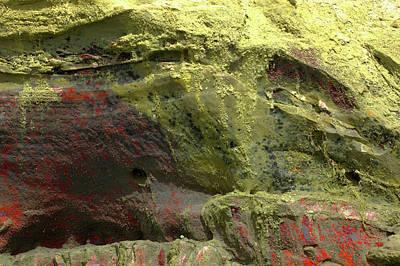 Photograph - Art Print Cliff 12 by Harry Gruenert