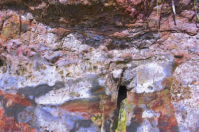 Photograph - Art Print Cliff 3 by Harry Gruenert
