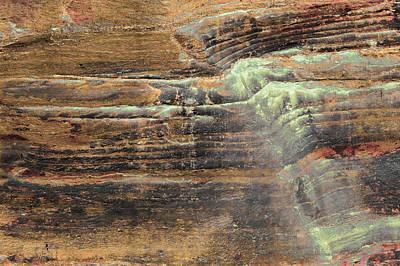 Photograph - Art Print Cliff 6 by Harry Gruenert