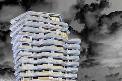 Photograph - Art Print Fasade 4 by Harry Gruenert