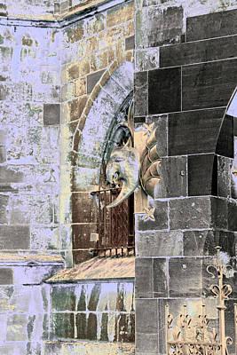 Photograph - Art Print Fasade 6 by Harry Gruenert