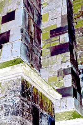 Photograph - Art Print Fasade 7 by Harry Gruenert
