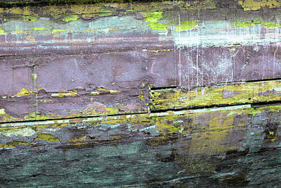 Photograph - Art Print Patina 1 by Harry Gruenert