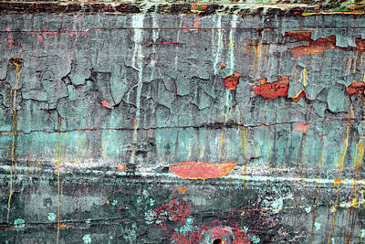 Photograph - Art Print Patina 11 by Harry Gruenert