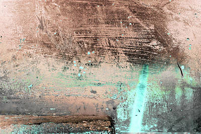 Photograph - Art Print Patina 20 by Harry Gruenert