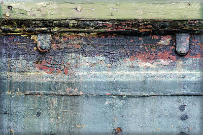 Photograph - Art Print Patina 3 by Harry Gruenert