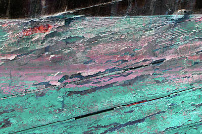 Photograph - Art Print Patina 41 by Harry Gruenert