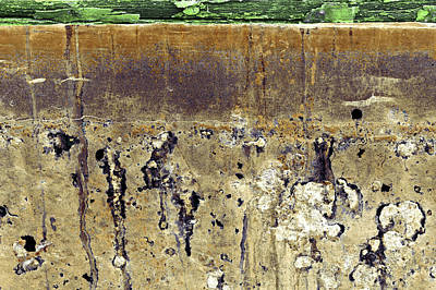 Photograph - Art Print Patina 44 by Harry Gruenert