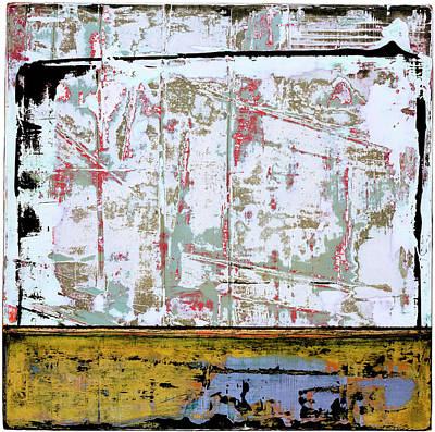 Painting - Art Print Square 9 by Harry Gruenert