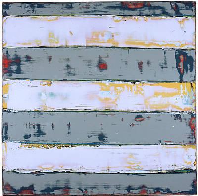 Painting - Art Print Stripes by Harry Gruenert