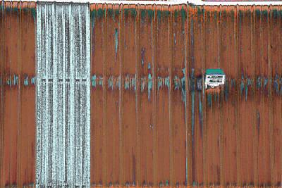 Photograph - Art Print Walls 12 by Harry Gruenert