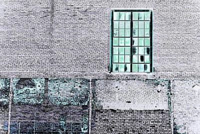 Photograph - Art Print Walls 13 by Harry Gruenert