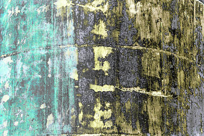 Photograph - Art Print Walls 15 by Harry Gruenert