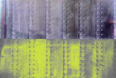 Photograph - Art Print Walls 19 by Harry Gruenert