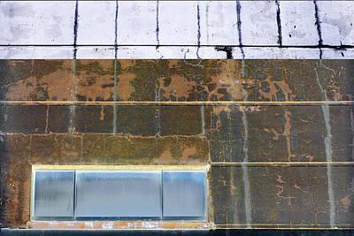 Photograph - Art Print Walls 3 by Harry Gruenert