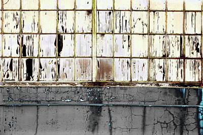 Photograph - Art Print Windows 17 by Harry Gruenert