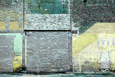 Photograph - Art Print Walls 6 by Harry Gruenert
