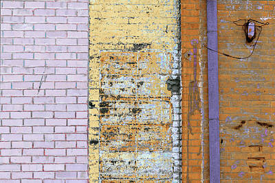 Photograph - Art Print Walls 7 by Harry Gruenert