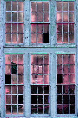Photograph - Art Print Windows 1 by Harry Gruenert
