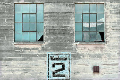 Photograph - Art Print Windows 19 by Harry Gruenert