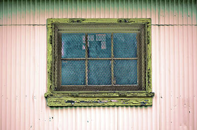 Photograph - Art Print Windows 4 by Harry Gruenert