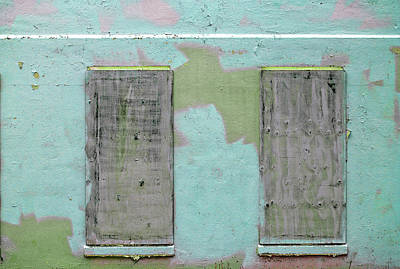 Photograph - Art Print Windows 6 by Harry Gruenert
