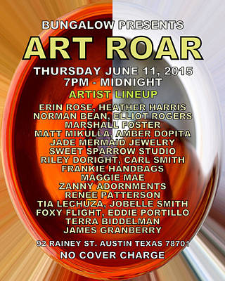Digital Art - Art Roar June 2015 by James Granberry