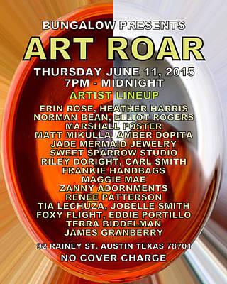 Digital Art - Art Roar June 2015 by James Granberry