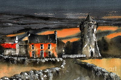 Painting - Art School In The Burren, Clare by Val Byrne