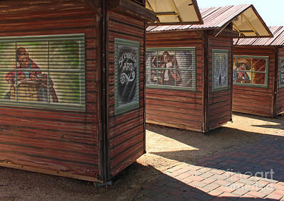 Old Town Temecula Photograph - Art Shacks Old Town by Cheryl Del Toro