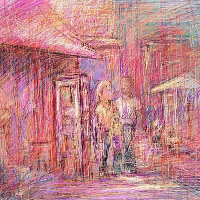 Art Show Digital Art - Art Show by Rachel Christine Nowicki