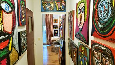 Photograph - Art Studio Lobby by Darrell Black