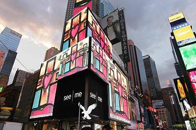 Art Takes Times Square Art Print