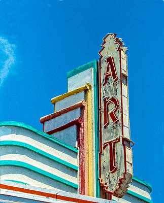 Photograph - Art Theater--film Image by Matthew Bamberg